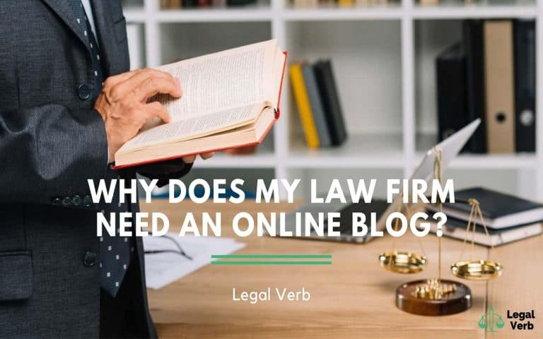 Why Does My Law Firm Need an Online Blog 1