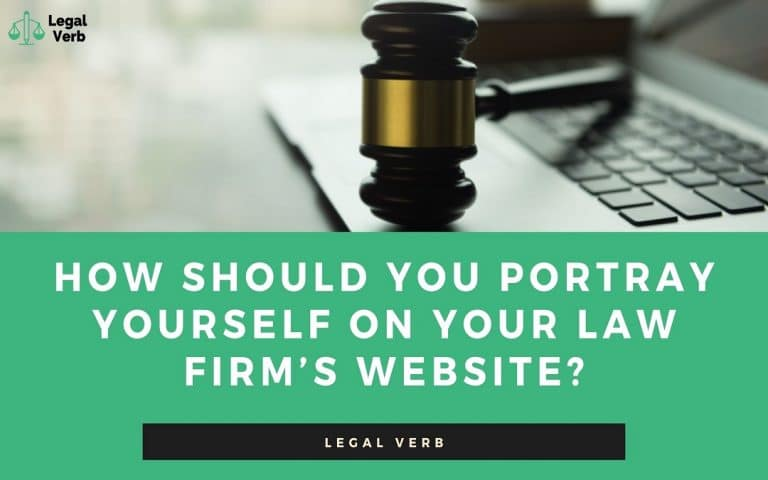 How Should You Portray Yourself on Your Law Firm's Website 1