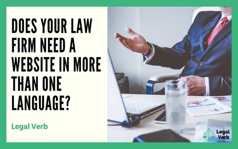 Does Your Law Firm Need a Website in More Than One Language 1